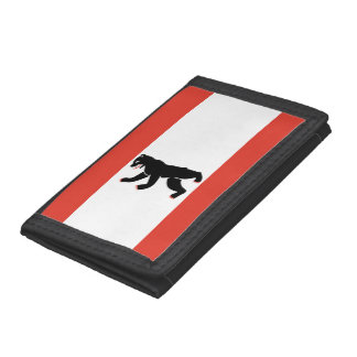 Flag of Berlin Trifold Wallet