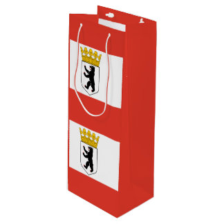 Flag of Berlin Wine Gift Bag