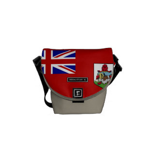 Flag of Bermuda Courier Bags