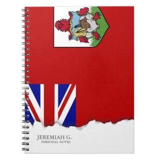 Flag of Bermuda Notebook