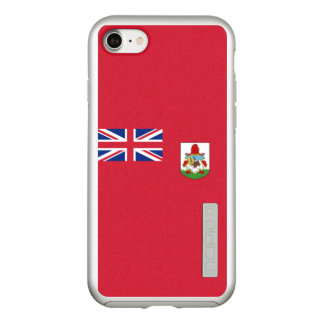 Flag of Bermuda Silver iPhone Case