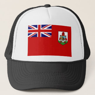 Flag Of Bermuda Truckers Mesh Hat