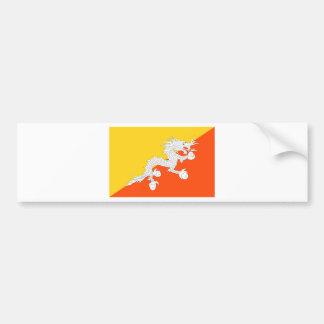 Flag of Bhutan - ཧྥ་རན་ས་ཀྱི་དར་ཆ - ཧྥ་རན་ས་ཀྱི་དར Bumper Sticker