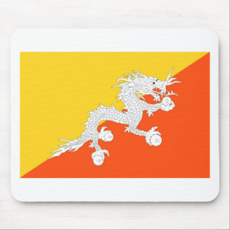 Flag of Bhutan - ཧྥ་རན་ས་ཀྱི་དར་ཆ - ཧྥ་རན་ས་ཀྱི་དར Mouse Pad