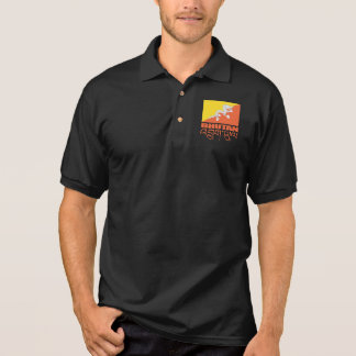 Flag of Bhutan Apparel Polo Shirt