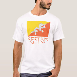Flag of Bhutan Apparel T-Shirt