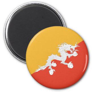 Flag of Bhutan Magnet
