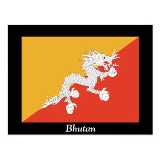 Flag of Bhutan Postcard