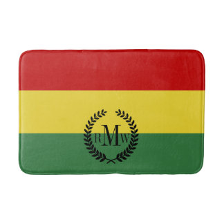 Flag of Bolivia Bath Mat