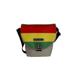 Flag of Bolivia Courier Bags