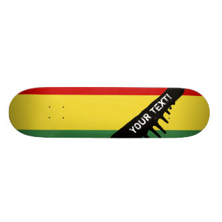 Flag of Bolivia Custom Skateboard