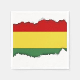 Flag of Bolivia Disposable Napkins