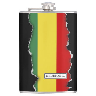 Flag of Bolivia Hip Flask