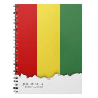 Flag of Bolivia Notebook