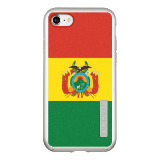 Flag of Bolivia Silver iPhone Case