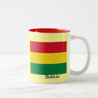 Flag of Bolivia Two-Tone Coffee Mug