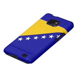 Flag of Bosnia and Herzegovina Samsung Galaxy S2 Cases