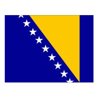 Flag of Bosnia and Herzegovina Postcard