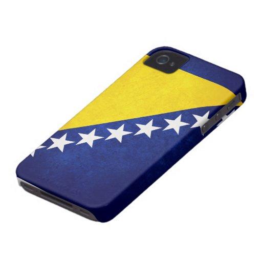 Flag of Bosnia iPhone 4 Cases