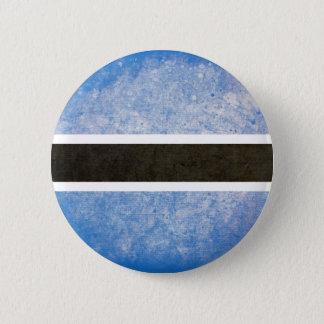 Flag of Botswana 2 Inch Round Button