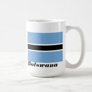 Flag of Botswana Coffee Cup