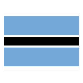 Flag of Botswana - Folaga ya Botswana Postcard