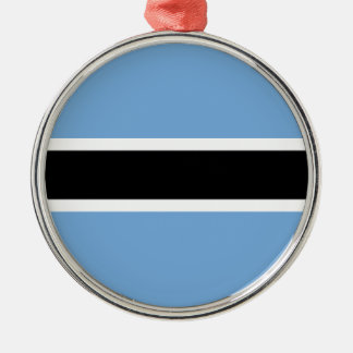 Flag of Botswana Metal Ornament