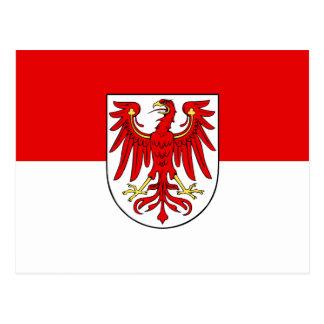 Flag of Brandenburg Postcard