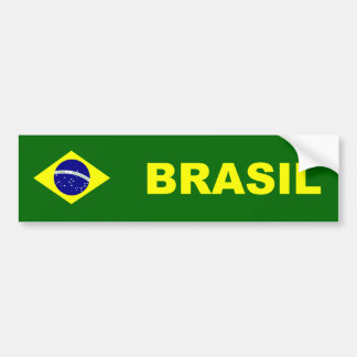 Flag of Brazil/Brazil Bumper Sticker