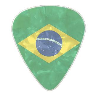 Flag of Brazil Guitar Picks