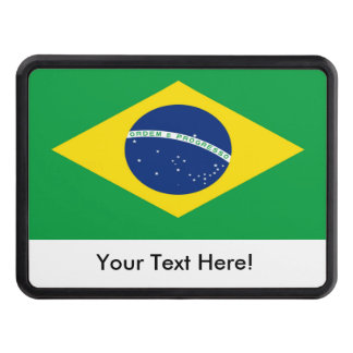 Flag of Brazil Hitch Covers