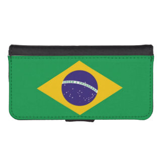 Flag of Brazil iPhone SE/5/5s Wallet Case