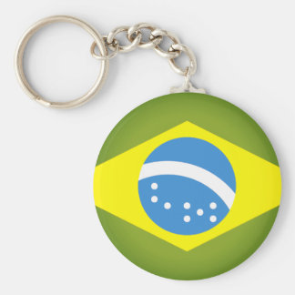 Flag of Brazil Keychain