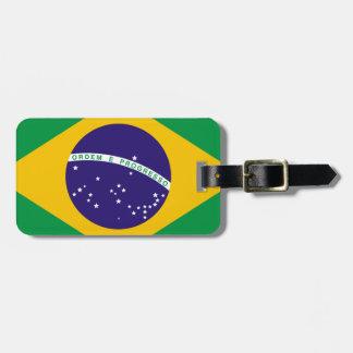Flag of Brazil Luggage Tag