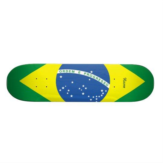 Flag of Brazil Skate Board Deck