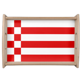 Flag of Bremen Serving Tray