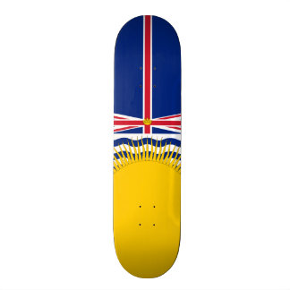 Flag of British Columbia Skateboard Deck