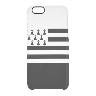 Flag of Brittany Clear iPhone Case