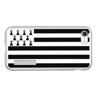 Flag of Brittany Silver iPhone Case