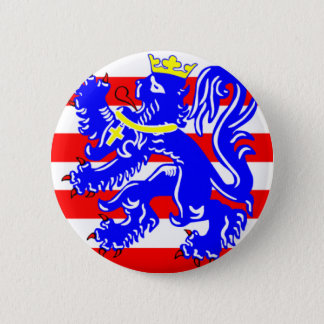 Flag of Bruges 2 Inch Round Button