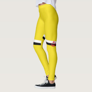 Flag of Brunei Leggings