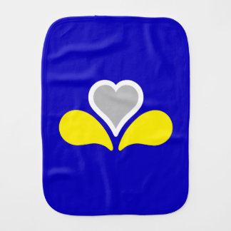 Flag of Brussels, Belgium Burp Cloth