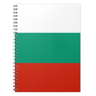 Flag of Bulgaria Bulgarian Flag знаме на България Notebook