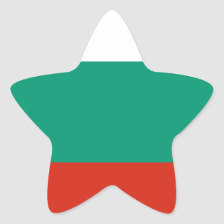 Flag of Bulgaria Bulgarian Flag знаме на България Star Sticker