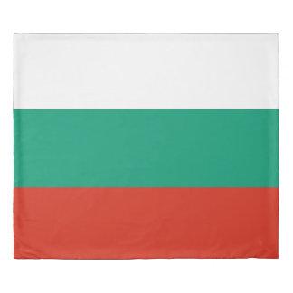 Flag of Bulgaria or Bulgarian Duvet Cover