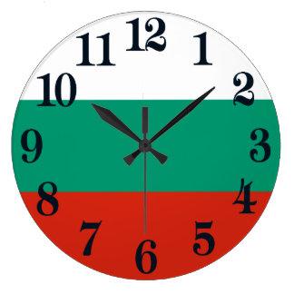 Flag of Bulgaria or Bulgarian Large Clock