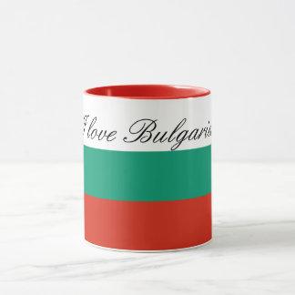 Flag of Bulgaria or Bulgarian Mug