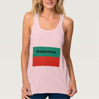 Flag of Bulgaria or Bulgarian Tank Top