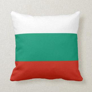 Flag of Bulgaria or Bulgarian Throw Pillow