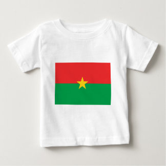 Flag of Burkina Faso - Drapeau du Burkina Faso Baby T-Shirt